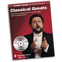 Classical Greats : Audition Songs for Male Singers : Solo : Songbook & CD : 884088469405 : 1423489527 : 14037456