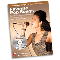 Favorite Pop Songs : Audition Songs for Female Singers : Solo : Songbook & CD : 884088469313 : 1423489446 : 14028738