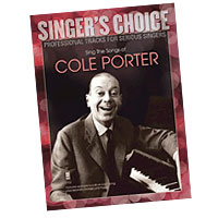 Professional Tracks for Serious Singers : Sing the Songs of Cole Porter : Solo : Songbook & CD : 888680033538 : 1941566014 : 00138892