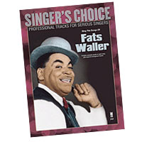 Professional Tracks for Serious Singers : Sing the Songs of Fats Waller : Solo : Songbook & CD : Fats Waller : 888680033583 : 1941566073 : 00138897