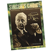 Professional Tracks for Serious Singers : Sing the Songs of Jerome Kern : Solo : Songbook & CD : 888680033620 : 1941566057 : 00138901