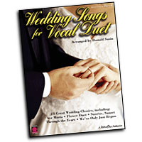 Various Arrangers : Wedding Songs for Vocal Duet : Duet : Songbook :  : 073999829013 : 157560762X : 02500735
